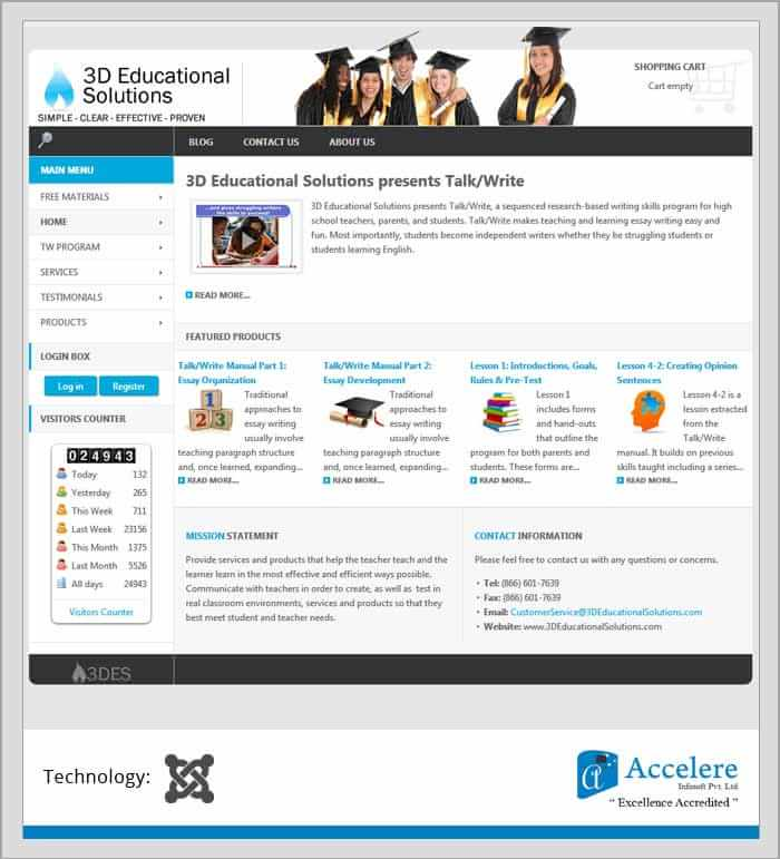Education Solution - Accelere Portfolio