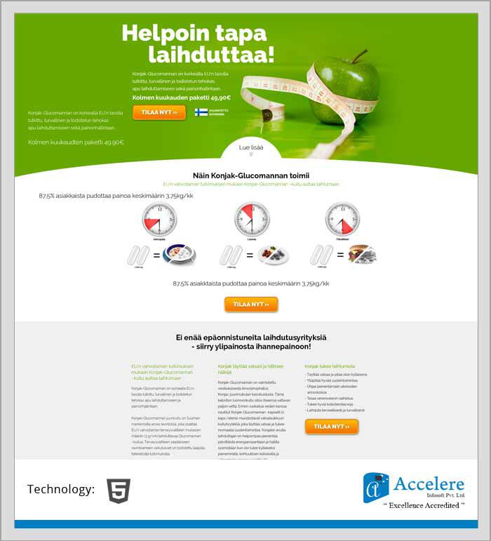 Fitness Product - Accelere Portfolio