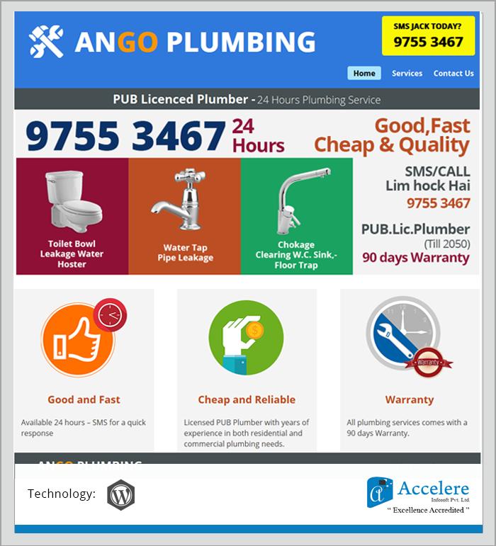 Ango Plumbing - Portfolio